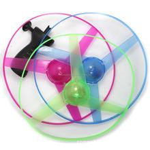 LED plastic led flying disc dor kids/ led flywheel for kids