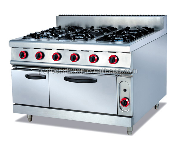 With 6 Burners/counter Top Gas 6 Stoves - Buy Table Top Gas Range ...