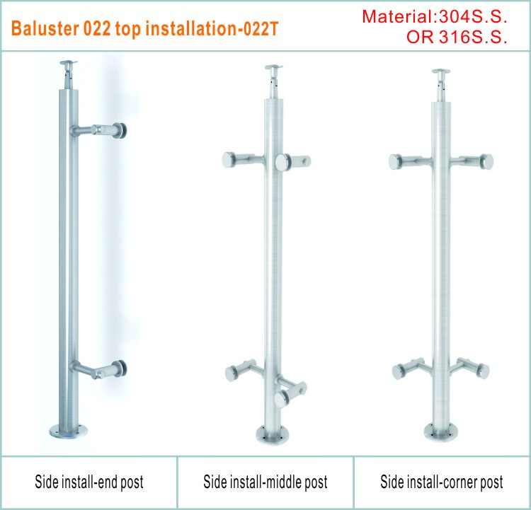 outdoor balustrade fittings prices