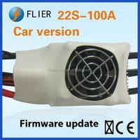 Brushless Motor 22S 100A ESC variable speeds usb rc mini car