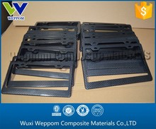 Absolute Cost Price!!! Carbon Fiber License Plate Frame From Gold Supplier