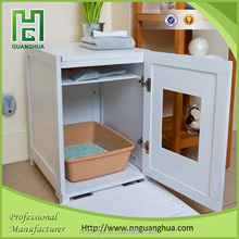 animal product cat litter box wooden luxury new pet house
