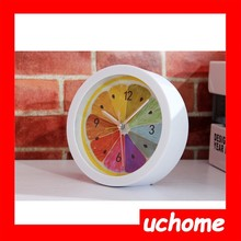 UCHOME 2015 New Friut Electric Bell Table Clock with LED dial