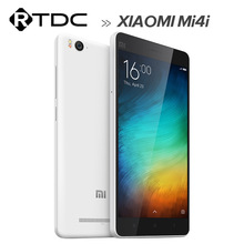 4G Android 6.0 Dual Micro SIM Card Dual Standby Original 2GB RAM Xiaomi Mi 4i Mobile Phone 5.0 inch