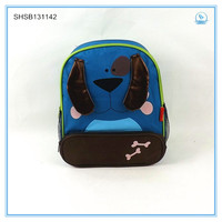 2014 HOT wholesale! Children's backpack school bags cute lovely cartoon animals Bun outdoor travel bags with Prevent lost