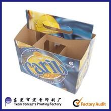 Cardboard 6 Pack Beer Bottle Carrier