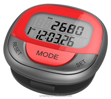 OEM/ODM pedometer 7 Colors 7 Days Memory 2D Pedometer activity tracker