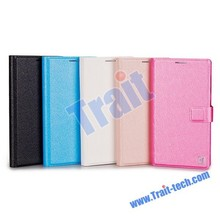 Ultra-thin Card Slot Flip Leather Case Cover for Lenovo Vibe X2