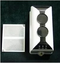 conventional fire alarm reflective infrared beam smoke detector