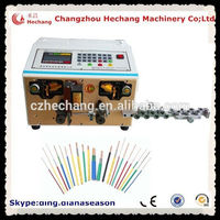 Automotive wiring harness coaxial cable stripping machine rg 50 ohm electric cable cutting and stripping machine