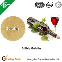 Edible Gelatin For Wine And Juice Fining