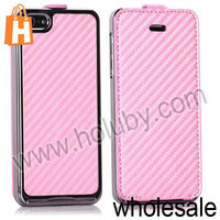 Magnetic Top Flip Leather Case for iPhone 5S iPhone 5