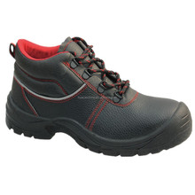 Working Men's Industrial Steel Toe Cap Black Security Safety Shoes