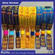 handicrafts made of promotion gift fabric woven wristband