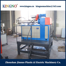 Cold feed silicone extruder for silicone block