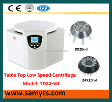 TDZ4-WS bench top Low speed continuous blood bank centrifuge