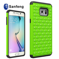 Shock Proof High Impact Bling Bling Rhinestone Covers For Samsung Galaxy Note 5 Edge