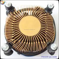 CPU cooler fan lga 775 aluminum heatsink