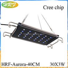 aquarium led flood light 300w white blue Adjustable