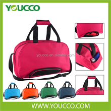 China cheap Sports bag with shoe compartment travel duffel Luggage duffle bag