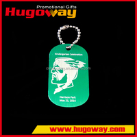Casting Crafts Top sale cheapest Souvenir Gifts led dog tag