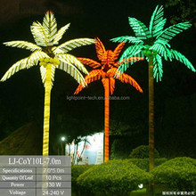 Best style plastic artificial palm tree