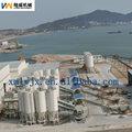 300t el tipo de atornillado de acero al carbono o silo para contenedores ceniza de carbón y pellets de madera