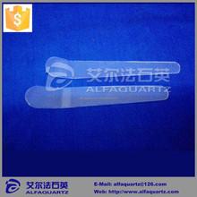Professional laboratory quartz spatula/quartz glass spoon/quartz samples spoon for chemical