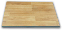high quality green core laminate flooring with wax popular in Georgia