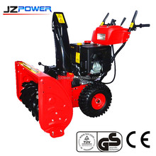 hand held snow blower,2015 new plastic panel snow machine ,loncin engine powered snow thrower
