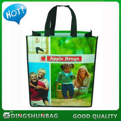 Low price stylish classical wooden wine carrier gift bag