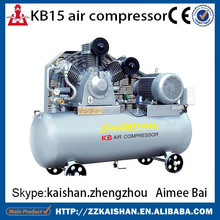 KB15 piston high pressure industrial air compressor price / portable industrial air compressor price for PET bottle used 1.2CBM