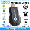 Best quality Anycast M2 plus Rockchip RK2928 Miracast satellite dongle wireless mini keyboard for chromecast