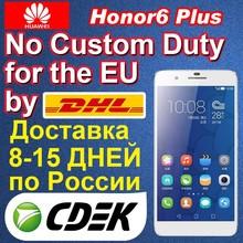 International Version Huawei 6 plus 4G LTE FDD Honor 3GB Ram Dual Sim Android Smartphone