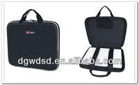 2013 Dongguan Black Cloth Cover&Well Protective EVA Laptop Case