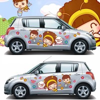 Car Stickers Door Window Is fit For Cute Girl The Door Window is Fit For Car Badge Symbol