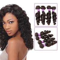 Low Price Natural Wave Human Hair Brazilian Weave Virgin Indian Natural Wave Hair 100% Human Natural Wave Hair