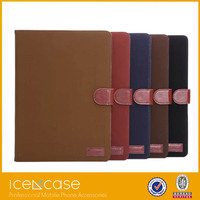 2015 Smart Leather Cover Case for iPad air2 ,high quality pad case for iPad air2