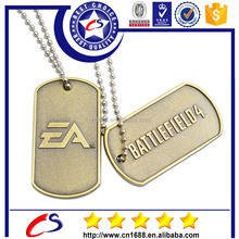 New product 2015 custom stamped metal tags ,brand logo metal tag