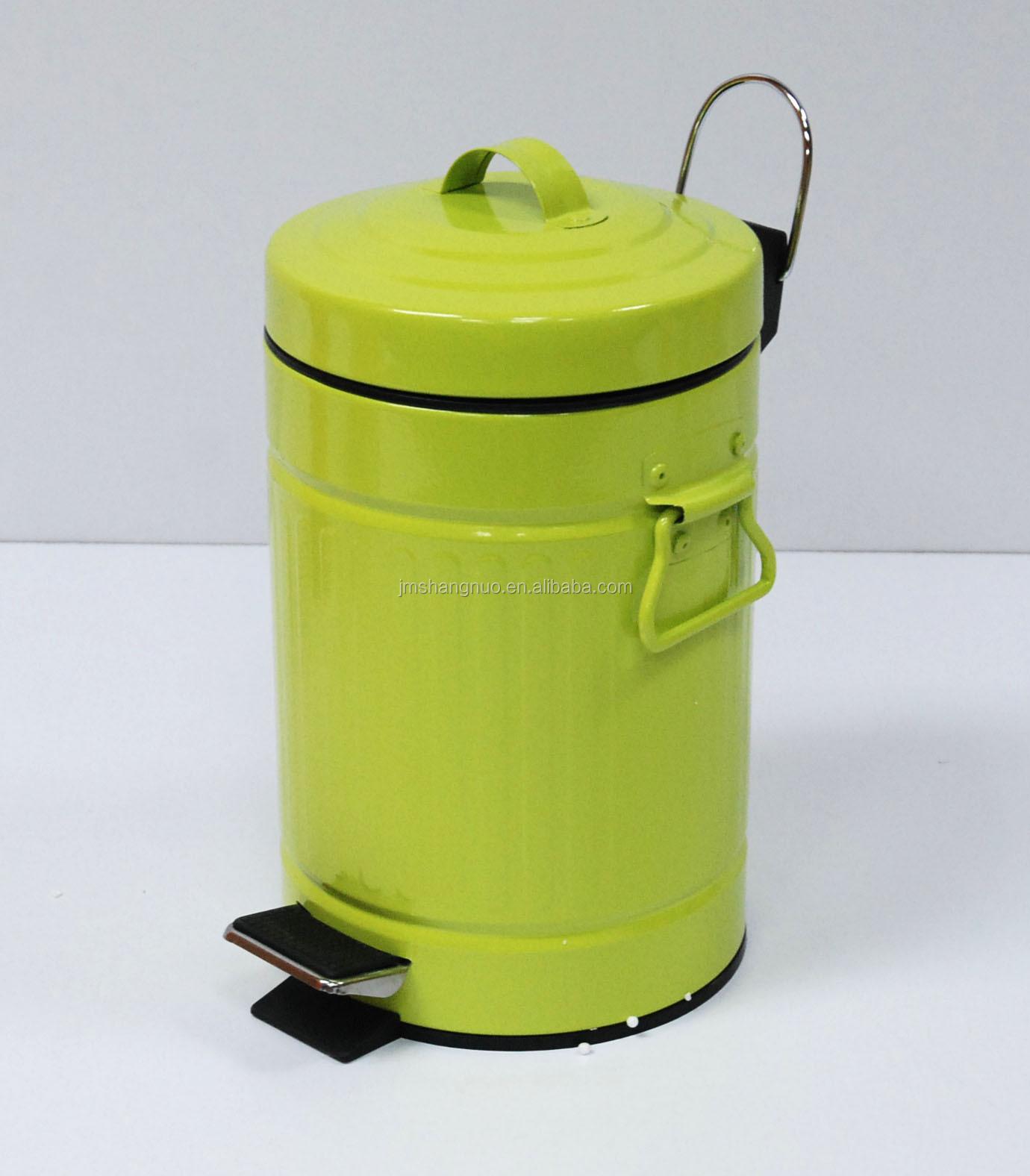 Groene keuken afvalbak met deksel afvalbakken product id ...