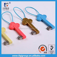 2015 New Year Gift 8pin keychain usb data cable