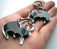 Acrylic keychain laser cut, custom made engraving beautiful acrylic keychain