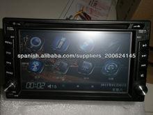 2DIN coche universal DVD (KT-6210)
