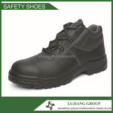 high quality Cow grain leather new style safety shoes