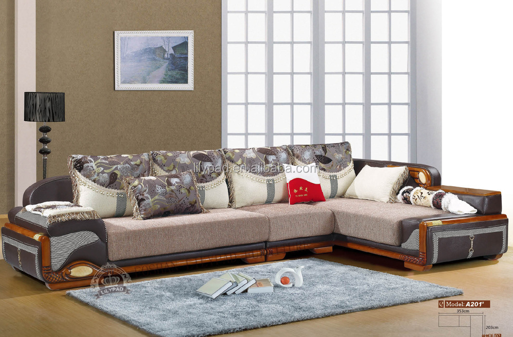 Wooden sofa designs for drawing room joy studio design - Wooden corner sofa designs ...