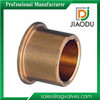 forged high compressive strength npt male and female threaded brass flange bushing with groove