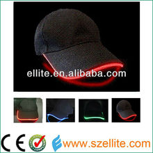 ce&rohs certificate red lights led snapback caps