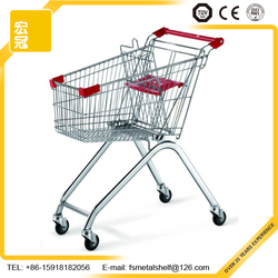 China Wholesale High Quality Foldable Shopping Trolleys