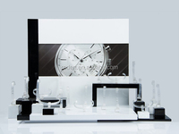 Wholesale Stretch Watch Stand Rack Classic White And Black Mixed