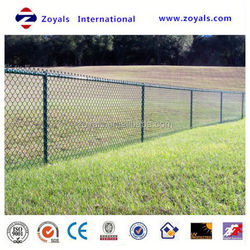 Reliable Supplier ISO 9001:2008 wire mesh pvc chain link fencing